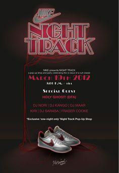 NIKE presents NIGHT TRACK