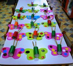 Summer crafts, fun crafts, art for kids, pre k activities, preschool educat Spring Crafts For Kids, Crafts For Kids To Make, Summer Crafts, Kids Crafts, Art For Kids, Arts And Crafts, Toddler Crafts, Preschool Crafts, Easter Crafts