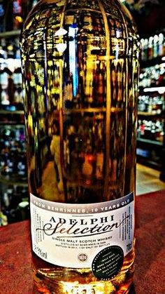 Whisky Benrinnes, 10-Years Old from Adelphi.  #whisky #adelphi #benrinnes #scotch #distillery #limited #singlemalt #selection