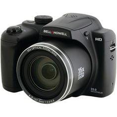 Bellhowell 20.0 Megapixel B35hdz Digital Camera With 35x Optical Zoom
