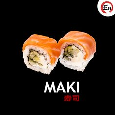Try Delicious ( & it's loaded with sound fats and proteins. The ideal mix of taste and sustenance. Sushi Dishes, Sushi Food, Sushi Recipes, Sushi Rolls, Japanese Food, Protein, Lunch, Passion
