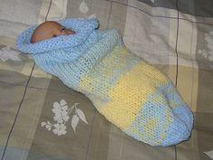 Free Pattern: Baby Cuddle Sack