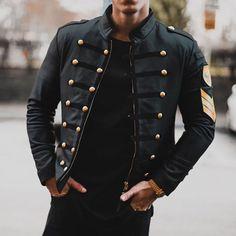 PU Leather Jacket Men Autumn Long Sleeve Black Plus Size Zipper Beading Short Jacket Men's Winter Coat Outwear Windbreaker Black Leather Jacket Outfit, Studded Leather Jacket, Pu Leather, Suede Jacket, Latest Fashion Clothes, Fashion Outfits, Mode Man, Herren Winter, Types Of Jackets