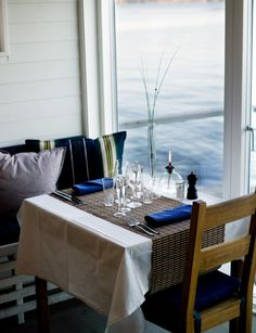 Built atop pontoons in Tjörn, Salt & Sill serves up spectacular views of the Skagerrak strait along with fresh seafood and traditional Swedish cuisine.