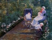 Children In A Garden - Mary Cassatt - www.marycassatt.org
