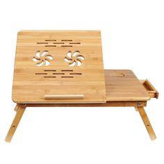 Bamboo Portable Laptop Desk Table Foldable - http://justbeensold.com/bamboo-portable-laptop-desk-table-foldable/