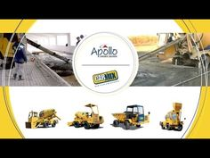 Watch out the video about Self-Loading Concrete Mixers & Dumper Used in Construction Sites - http://apollocarmix.com. Concrete mixers are loaded with a mixture of sand, aggregate, cement, water and other binders which are mixed to produce a uniform mixture ready for construction. Self Loading Dumper is specialized trucks used to load materials, transport them and unload them. They are very useful in transportation of materials such as concrete, cement and sand within the site.