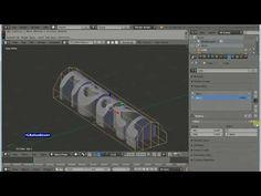 Blender 2.79 - Texto 3D 06, 02 Lattice, Mesh Deform, Surface Deform, Vertex Weights - YouTube