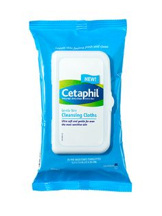 Week of Saturated with the Best of Beauty Award-winning formula we've loved for years (it's won six times), Cetaphil Gentle Skin Cleansing Cloths wipe away dirt, oil, and makeup without stripping skin Best Makeup Remover, Makeup Remover Wipes, Makeup Wipes, Skin Makeup, Beauty Shop, Diy Beauty, Beauty Makeup, Beauty Hacks, Beauty Secrets