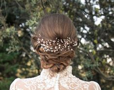 Wedding hairstyles to make your guests' hair stand on end on your wedding day in 2016 Romantic Hairstyles, Loose Hairstyles, Bride Hairstyles, Vintage Hairstyles, Pretty Hairstyles, Hairdo Wedding, Headpiece Wedding, Wedding Hair And Makeup, Bridal Hair