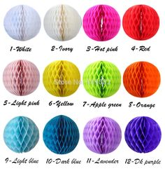 Free shipping 10pcs 20cm (8 inch) Tissue Paper Flower Honeycomb ball Lantern Wedding decoration party decoration Wholesale - http://thekopf.com/products/free-shipping-10pcs-20cm-8-inch-tissue-paper-flower-honeycomb-ball-lantern-wedding-decoration-party-decoration-wholesale/