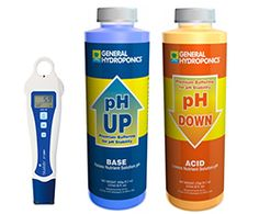 The products to get you started:  BlueLab pH Pen BlueLab PPM Pen Blue Lab Truncheon Meter BlueLab Combo Meter Earth Juice Natural Up/Down GH pH UP/Down