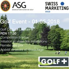 Événements à venir - SwissMarketing Vaud Lausanne, Club, Golf Courses, Day Planners