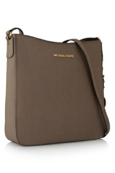MICHAEL KORS Saffiano Leather Crossbody