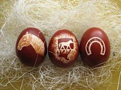 this is cool I hope they are hollow after putting all the work into the etching and then you eat the egg. Funny Horse Pictures, Easter Festival, Easter Pictures, Humpty Dumpty, Horse Crafts, Most Beautiful Animals, Cute Horses, Crazy Kids, Cute Crafts