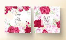 Beautiful Wedding Invitations, Wedding Invitation Cards, Blooming Rose, Peony Flower, Peonies, Wedding Flowers, Red, Wedding Invitations, Peony