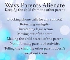 :( Unfortunately,  the adoptee often cannot see that they are being controlled by a person who wishes to alienate them from the  biological parents.