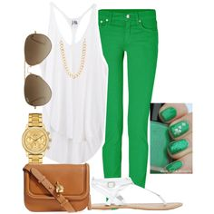 St patricks day outfit #1