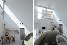Ground and above roof house/SPACESPACE