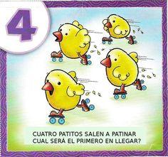 Fichas de números para repasar en infantil