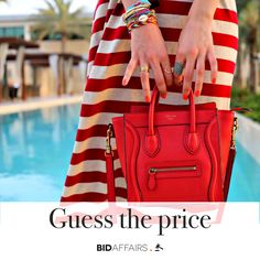 Crazy over #celine ❤️ Guess the price of the celine nano luggage in leather for your chance to win some free bids! 😉😉 #bidaffairs
