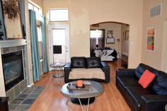 Eclectic Living Room at 2108 Navajo Willow Dr In Albuquerque New Mexico House For Sale