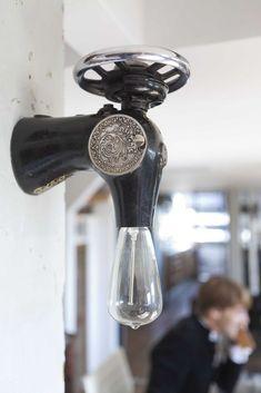 Лампы из подручных материалов: 29 вариантов необычных светильников - Ярмарка Мастеров - ручная работа, handmade