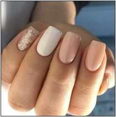 + Ideas for Nude Nails Designs - Gorgeously Chic Hands If you want a chic manicure, but prefer a more natural look, nude nails are the perfect choice for you! We have lovely and demure ideas just for you! Summer Acrylic Nails, Best Acrylic Nails, Acrylic Nail Designs, Summer Nails, Fall Nails, Winter Nails, Spring Nails, Nail Colors For Winter, Cute Nails