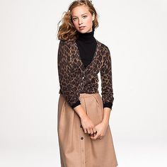 leopard with camel and black