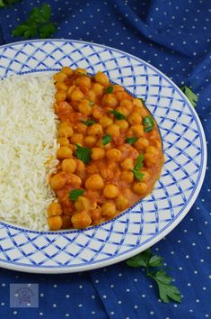 Curry, Chana Masala, Coco, Food And Drink, Vegan, Ethnic Recipes, Chickpeas, Fine Dining, Recipes