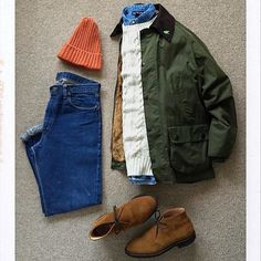 the latest trends in mens fashion and mens clothing styles Mode Masculine, Mature Mens Fashion, Men's Fashion, Fashion Outfits, Barbour Jacket, Mens Attire, Casual Street Style, Mode Style, Mens Clothing Styles