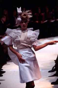 1996 - John Galliano for Givenchy couture - Kate Moss