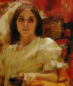 """ufukorada: """"Detail from a painting by Richard Schmid. """""""