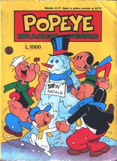 Cover for Popeye (Editoriale Metro, 1981 series) #37