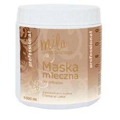 Mila - Hair Cosmetics, Maska mleczna do włosów z proteinami