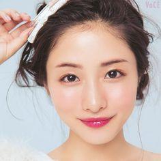 nice make up Light Makeup Looks, Asian Makeup Looks, Korean Eye Makeup, Makeup Light, Japanese Makeup, Japanese Beauty, Asian Beauty, Beautiful Person, Beautiful Asian Girls