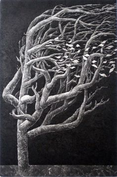 a lonely tree3 by Tommyprints on Etsy, $390.00