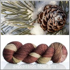 PINECONE 'RESILIENT' SUPERWASH MERINO SOCK - Expression Fiber Arts, Inc.