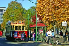 Christchurch City Tour by Tram - Combine your tram tour with a ride on the Christchurch Gondola, experience the Botanic Gardens, or a punt on the Avon River. Welcome Aboard, Central City, South Island, New Zealand, Cathedral, Restoration, The Past, Street View, Tours