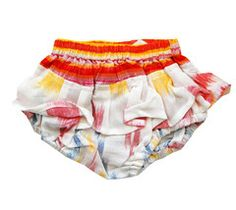 Cleobella - IKAT BABY BLOOMERS | WHITE