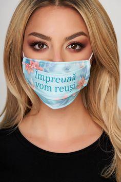 Masca de protectie StarShinerS verde din material textil Beauty, Mascaras, Beauty Illustration