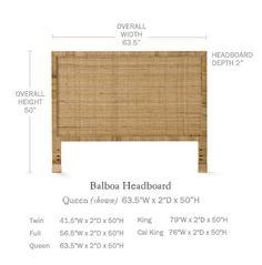 Balboa Headboard - Serena & Lily