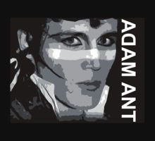 Adam Ant Kings Face by Vox Music