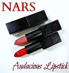 NARS Vanessa, Carmen Audacious Lipstick Swatches - You need ALL of these. Yes, all 40.