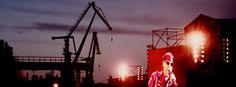 Author: Agnieszka Sęk | #shipyard #crane Cover Photos, Crane, Yard, Author, Ship, City, Patio, Yards, Writers