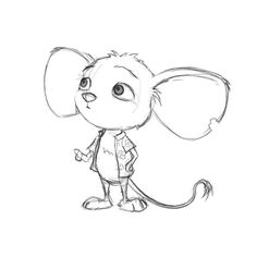 The original sketch of Reese - Zeichenvorlagen - Cat Drawing Cute Animal Drawings, Pencil Art Drawings, Animal Sketches, Art Drawings Sketches, Disney Drawings, Easy Drawings, Sketches Of Cartoons, Cartoon Drawings Of Animals, Mouse Sketch