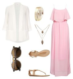 """""""Untitled #2"""" by fannyaleksei on Polyvore featuring Rut&Circle, Report and Evans"""