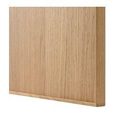 IKEA - EKESTAD, Frente de cajón, 40x10 cm, , La puerta EKESTAD cuenta con un fino marco de roble macizo y un panel de chapa de roble. El diseño es atemporal y la sencillez de sus líneas rectas cede todo el protagonismo a la veta de la madera. El roble aportará calidez y luminosidad a tu cocina.El marco de madera maciza aporta estabilidad a la puerta y hace que sea más duradera y resistente.Con el paso del tiempo, el panel de chapa de madera se oscurece y adquiere una bonita pátina…