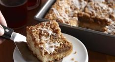Gluten Free Recipes: Cinnamon Coffee Cake