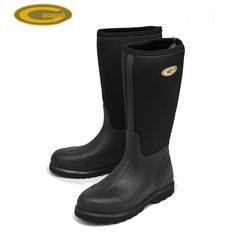 Grubs Hunt 5.0 Wellington Boots in Black are perfect for everyday activities.